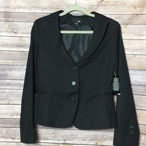 H&M plaid career jacket sz 10 NWT